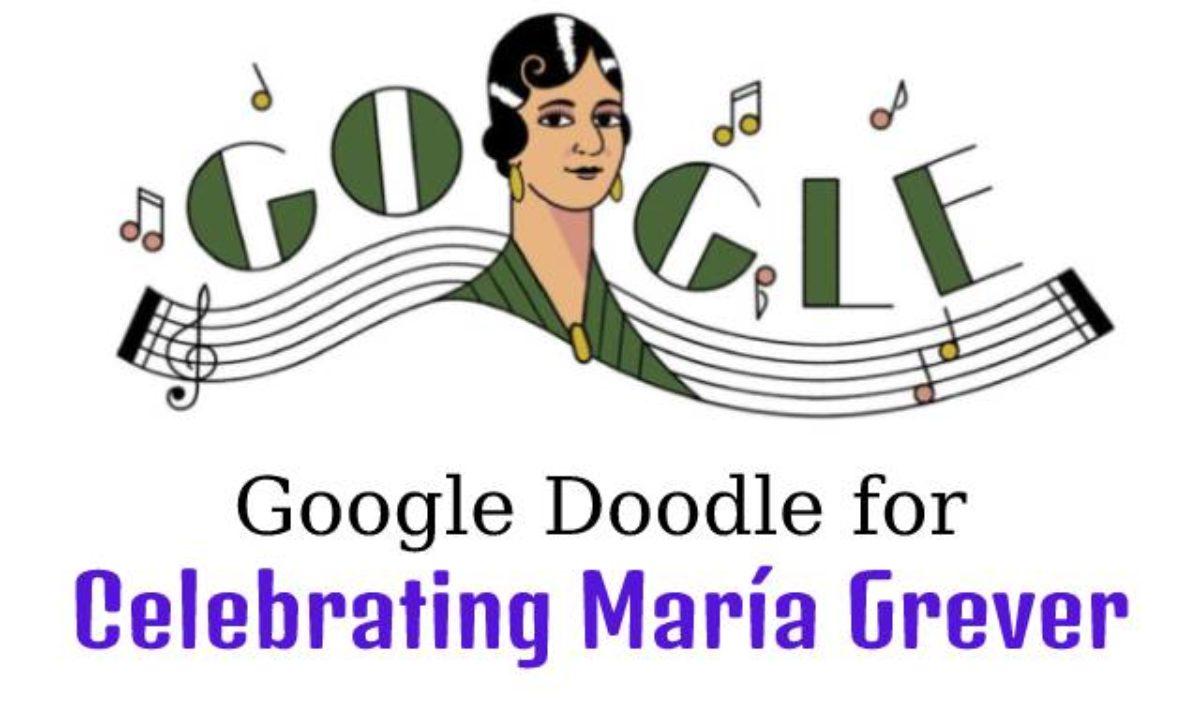 María Grever Google Doodle celebrates first female Mexican ...