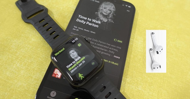 How to Download Time to Walk episodes to your Apple Watch and start Apples new Fitness Plus workout