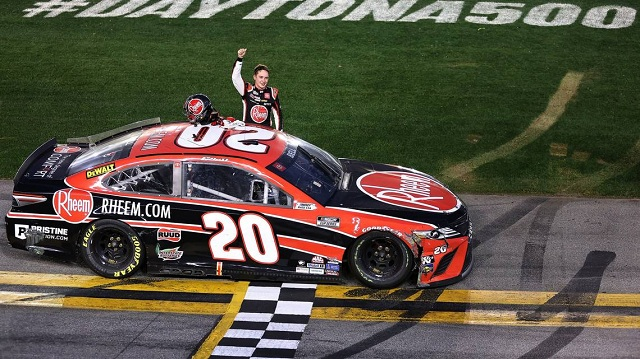 Race car driver Christopher Bell wins NASCAR Daytona road course to score first Cup Series victory