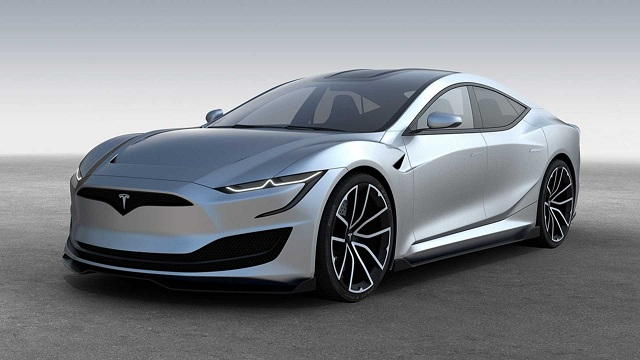 The fully updated Tesla Model SX move from drive to reverse automatically by EVs says Elon Musk
