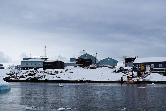 Vernadsky Research Base a Ukrainian Antarctic Station