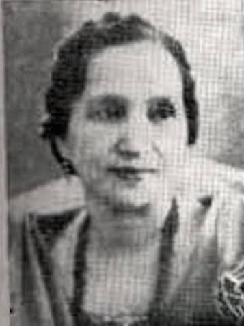 Activist Rosa Sevilla de Alvero