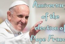 Anniversary of the election of Pope Francis 2021