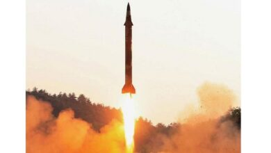 North Korea launches two ballistic missiles into the Sea of Japan U.S. official and Japanese PM Yoshihide Suga say