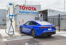 Toyota Motor opens its first commercial hydrogen fuel pump site in the Australian state of Victoria