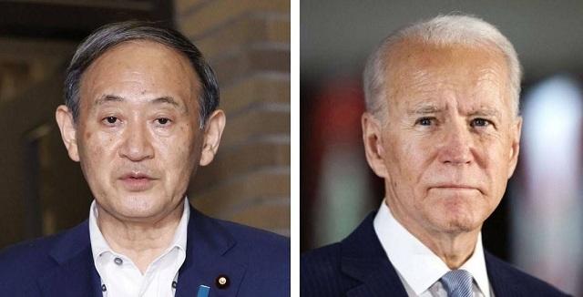 Yoshihide Suga and Joe Biden to insist Senkaku Islands fall under Japan U.S. security agreement