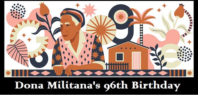 dona militana 96th birthday