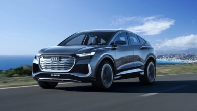 Audi Q4 e tron and Q4 Sportback e tron with the e tron suffix are set to make a global debut on April 14