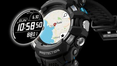 Casio discloses its first G Shock smartwatch GSW H1000 with Google Wear OS platform