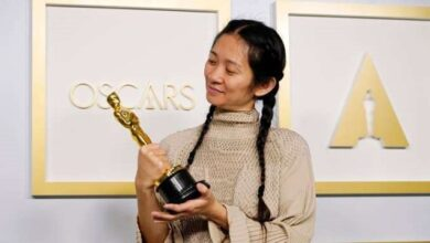 Chloe Zhao became the first Asian American woman and second woman to win the Oscar Academy Awards for best director in history