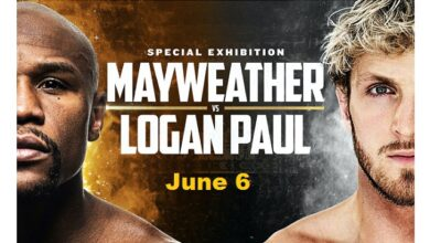 Floyd Mayweather Jr vs Logan Paul Exhibition Boxing fight set to happen on June 6