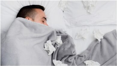 How to Sleep Well When You have a cold