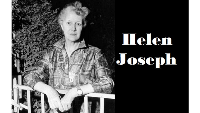 Interesting Facts about South African activist Helen Joseph