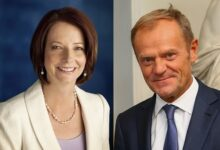 Japan will recognize 4136 people in spring honors including former Australian PM Julia Gillard EU Council President Donald Tusk