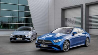 Mercedes Benz CLS and AMG CLS 53 facelifts debut launch scheduled for late 2021 2022
