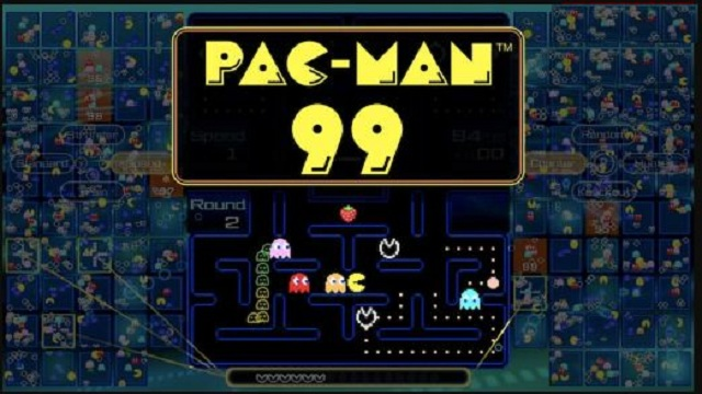 Pac Man 99 battle royale game is available to Nintendo Switch Online subscribers on April 7