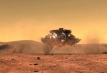 China successfully landed the rover Zhurong of its Mars mission to Tianwen 1