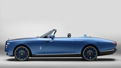 Rolls Royce launches Worlds most expensive new luxury car Boat Tail