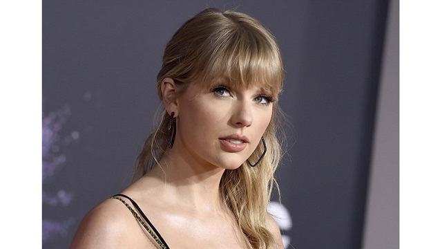 Taylor Swift becomes the first woman ever to win the Global Icon award at the 2021 BRIT Awards