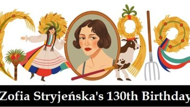 Zofia Stryjenska 130th Birthday