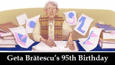 geta bratescu 95th birthday