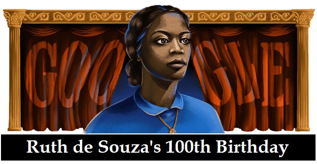 ruth de souza 100th birthday