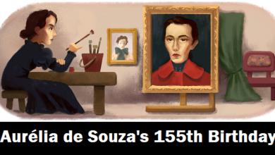 Aurelia de Souza Google Doodle celebrates Portuguese painters 155th birthday