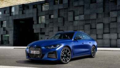 BMW will launch i4 and M50 electric sports sedan in 2022