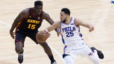 Ben Simmons top seeded Philadelphia 76ers eliminated in NBA playoffs by fifth seed Atlanta Hawks