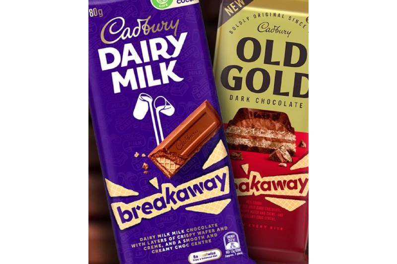 Cadbury is bringing back Breakaway chocolate block with Cadbury Daily Milk and Cadbury Old Gold flavor