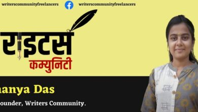 Co Founder of Writers Community Shanya Das is planning to launch their own digital marketplace for freelancers