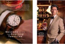 Mathias le Fevre Revisits The Roaring Twenties In His Latest Watch Editorial