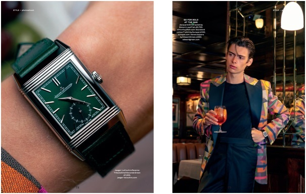 Mathias le Fevre Revisits The Roaring Twenties In His Latest Watch Editorial 1