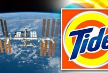 NASA and Tide collaborate to do laundry in space for humans to live on Mars