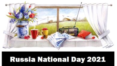 Russia National Day День России Den Rossii called Day of adoption of the declaration of state sovereignty of RSFSR День принятия Декларации о государственном суверенитете РСФСР