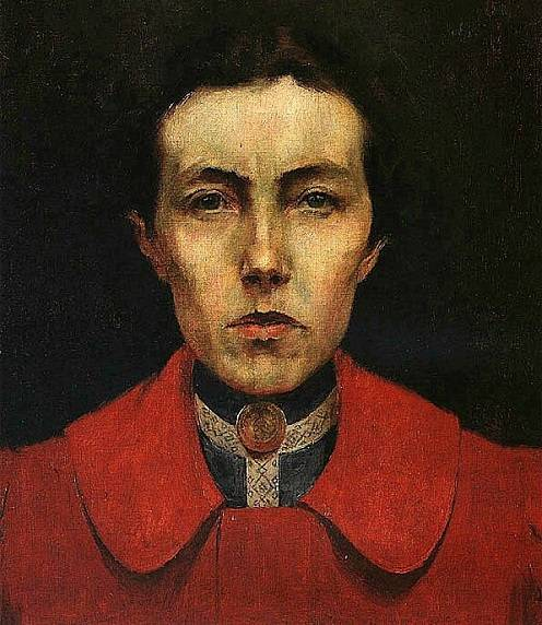 Self portrait Aurelia de Souza