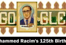 mohammed racims 125th birthday محمد راسم
