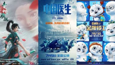 China Box Office Animated Film Green Snake hits to No. 1 followed by Chinese Doctors Agent Backhom Kings Bear