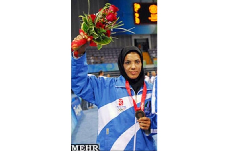 Farzaneh Dehghani won Irans second Olympic quota place
