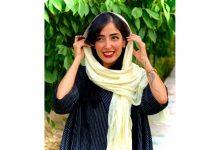 Iranian painter Yalda Dousti