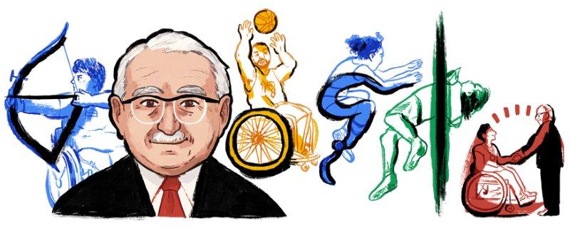 Professor Sir Ludwig Poppa Guttmann Google Doodle