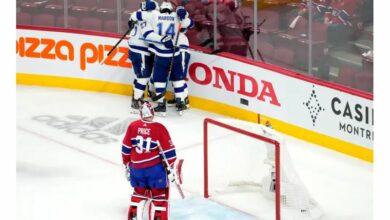 Stanley Cup Final The Lightning beats the Islanders Habs