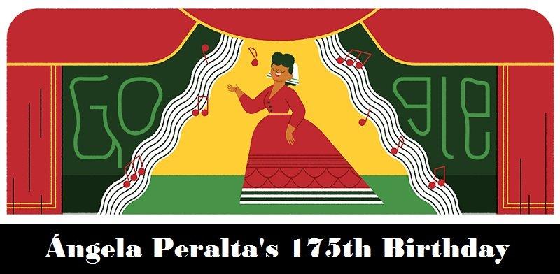 angela peralta 175th birthday