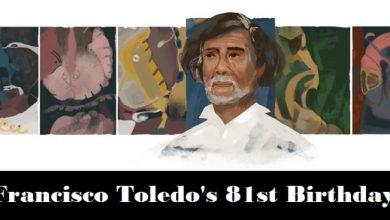 francisco toledo 81st birthday