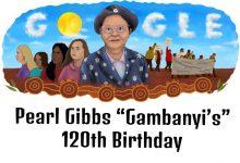 pearl gibbs gambanyis 120th birthday