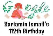 sariamin ismail 112th birthday