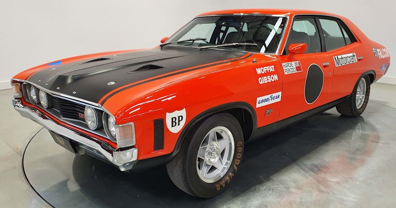 Ford XA Falcon GTHO Phase IV establishes a new sale price record for an Australian made road car