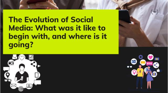 The Evolution of Social Media What was it like to begin with and where is it going