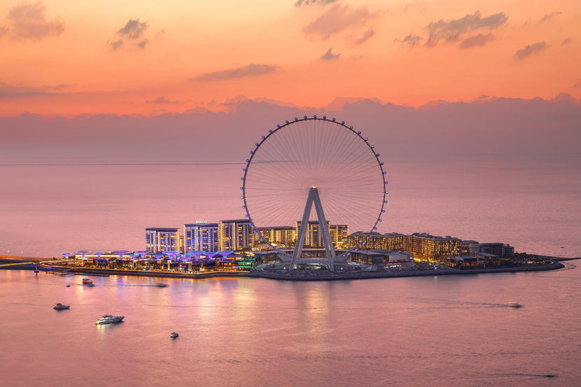 Ain Dubai Ferris Wheel the worlds largest and tallest observation wheel will open on October 21