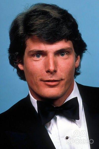 American actor Christopher Reeve